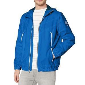 Perry Ellis Mens Water Resistant Hooded Jacket